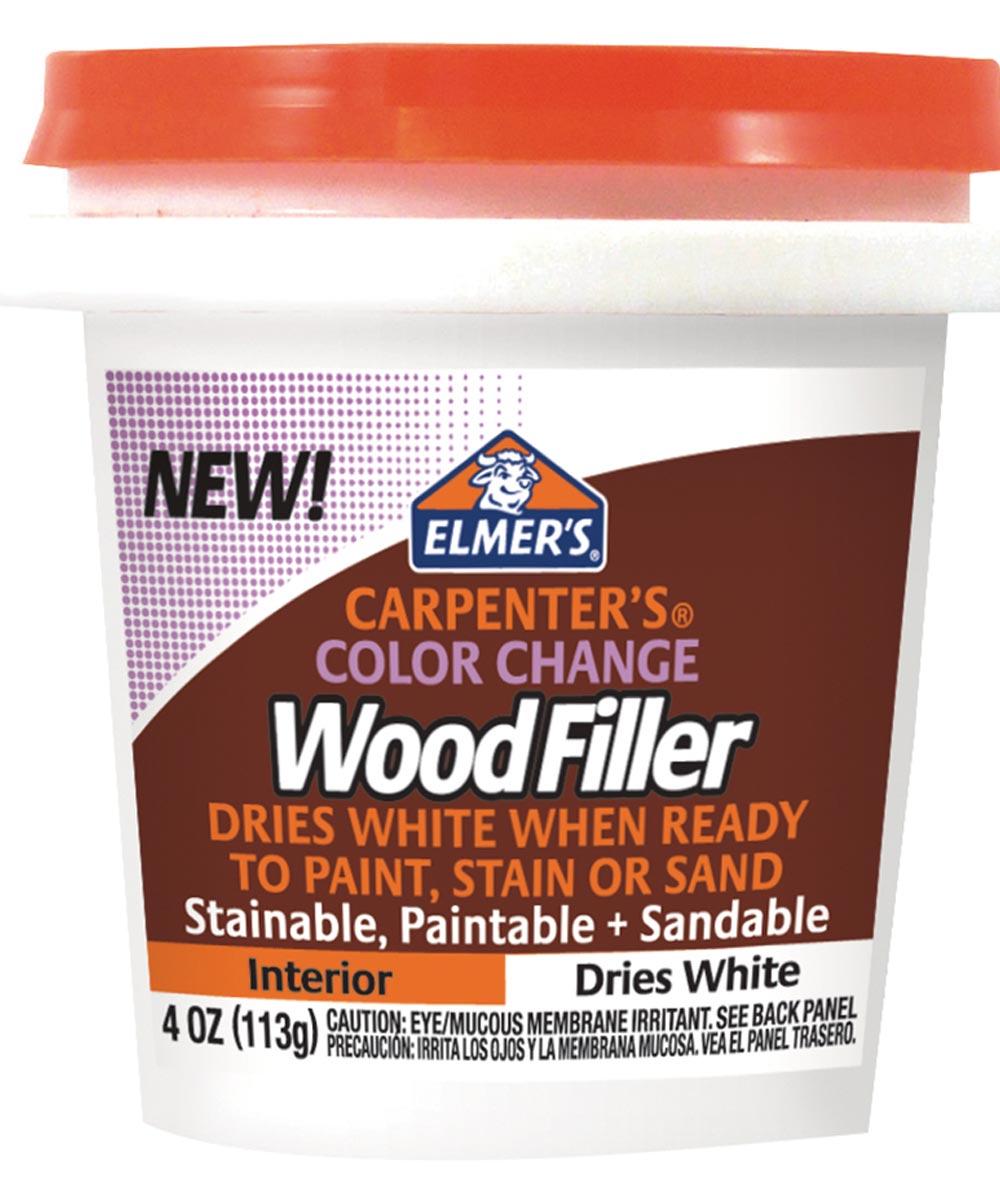 4 oz. White Carpenter's Color Change Wood Filler