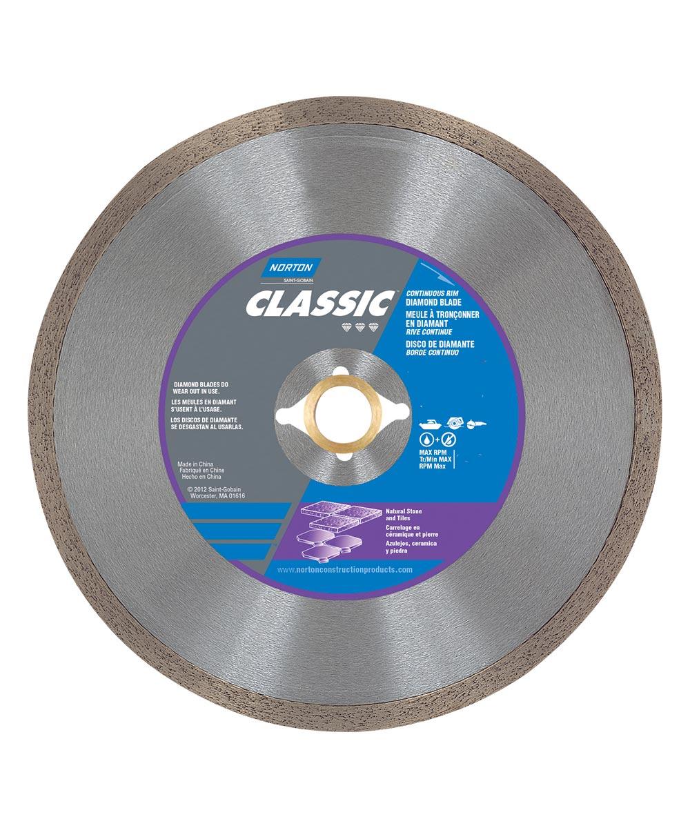 """Continuous Rim Wet 4/"""" Diamond Blade"""