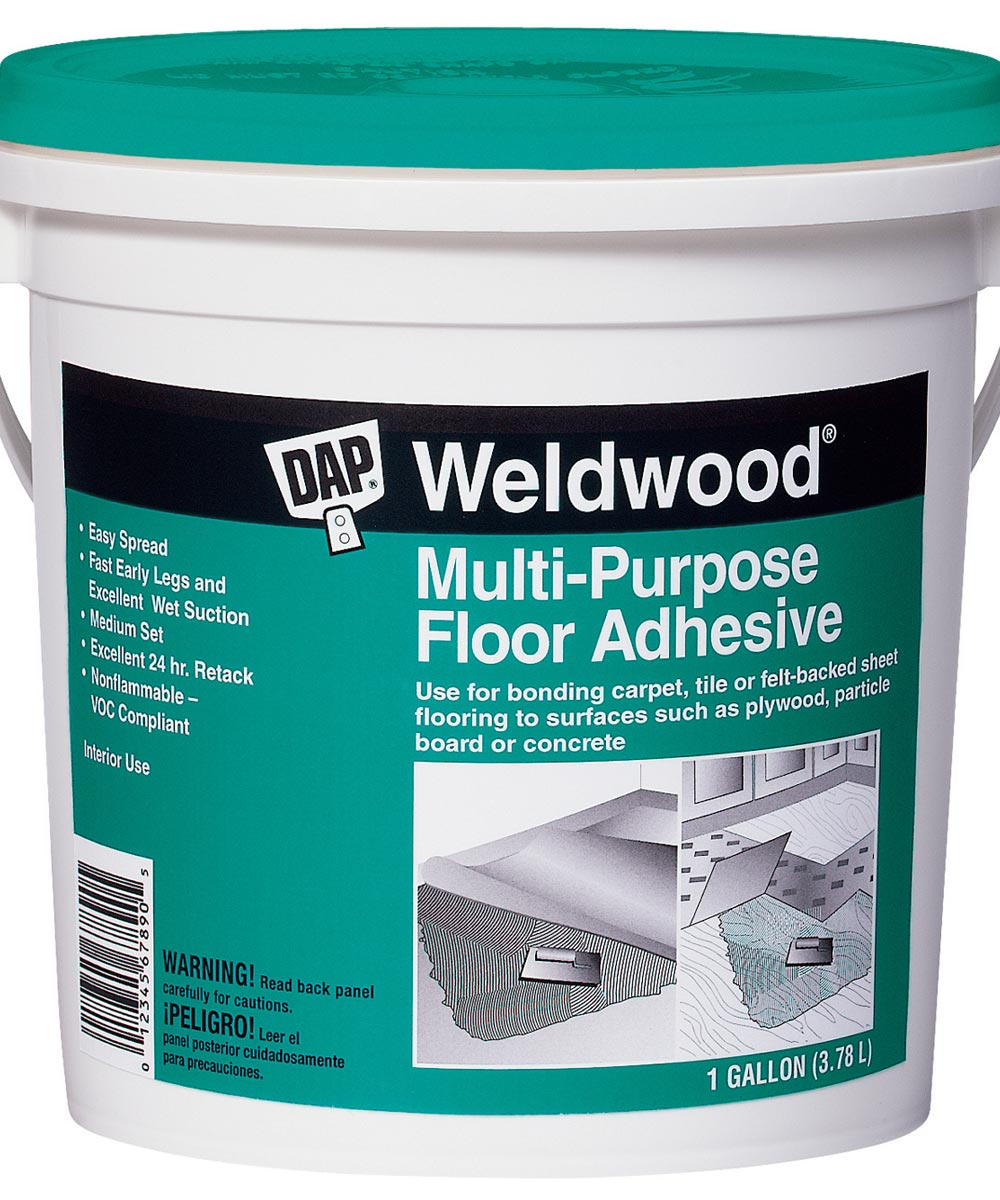 1 Gallon Multipurpose Floor Adhesive