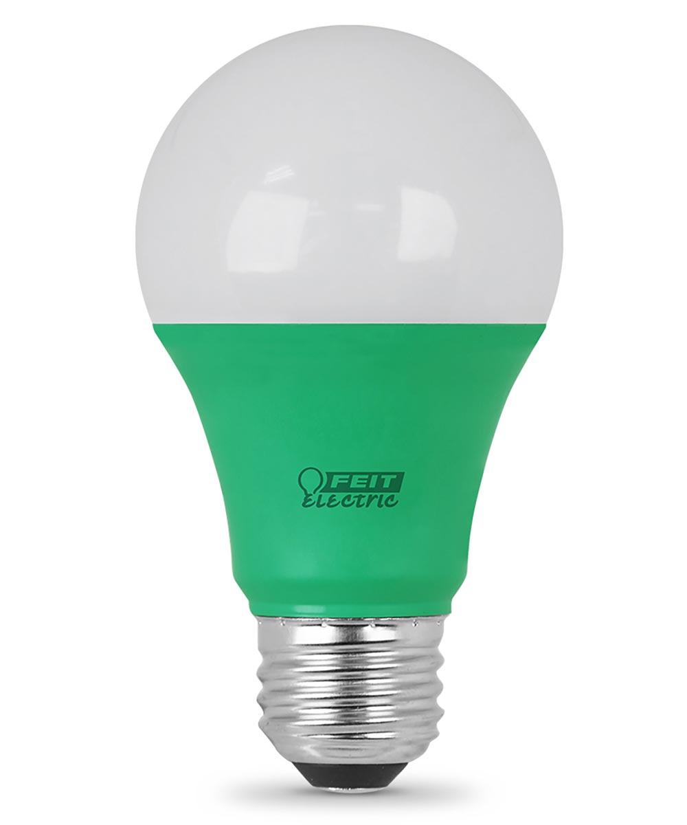 Feit Electric 3.5 Watt Green Non-Dimmable A19 LED Light Bulb
