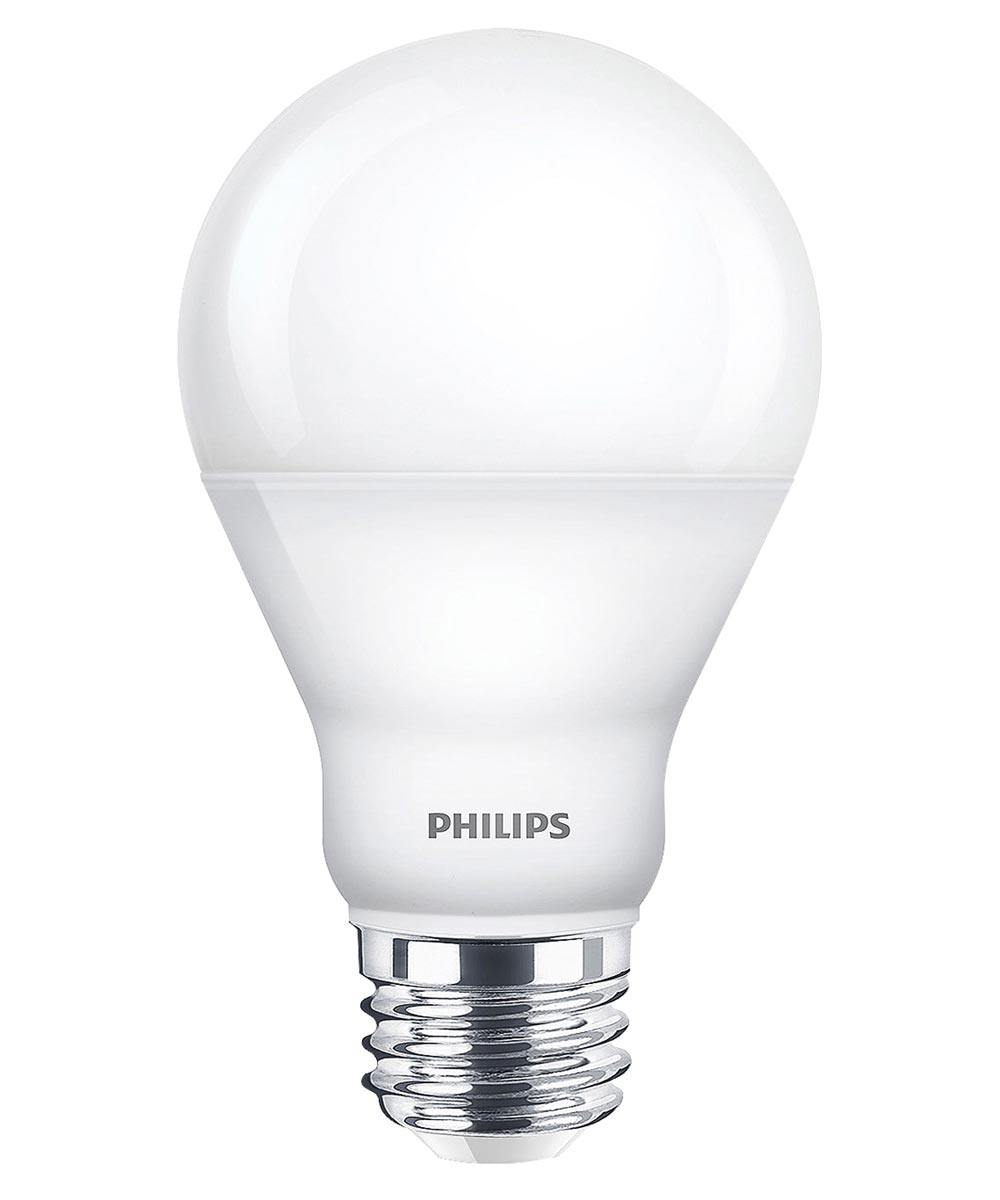 9.5 Watt E26 A19 Frosted Warm White LED Dimmable Light Bulb