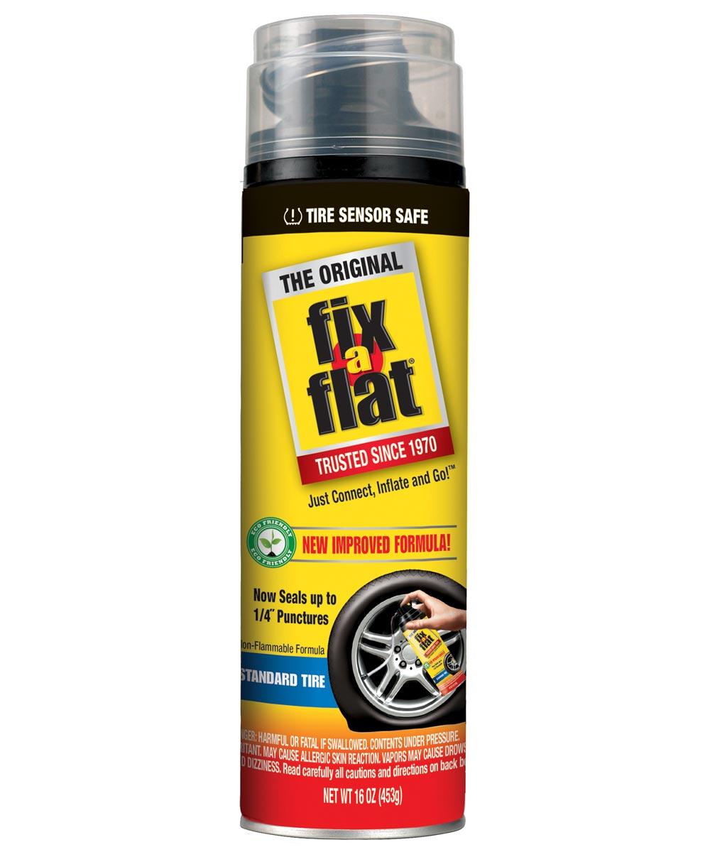 16 oz. Eco-Friendly Fix-A-Flat For Standard Tires