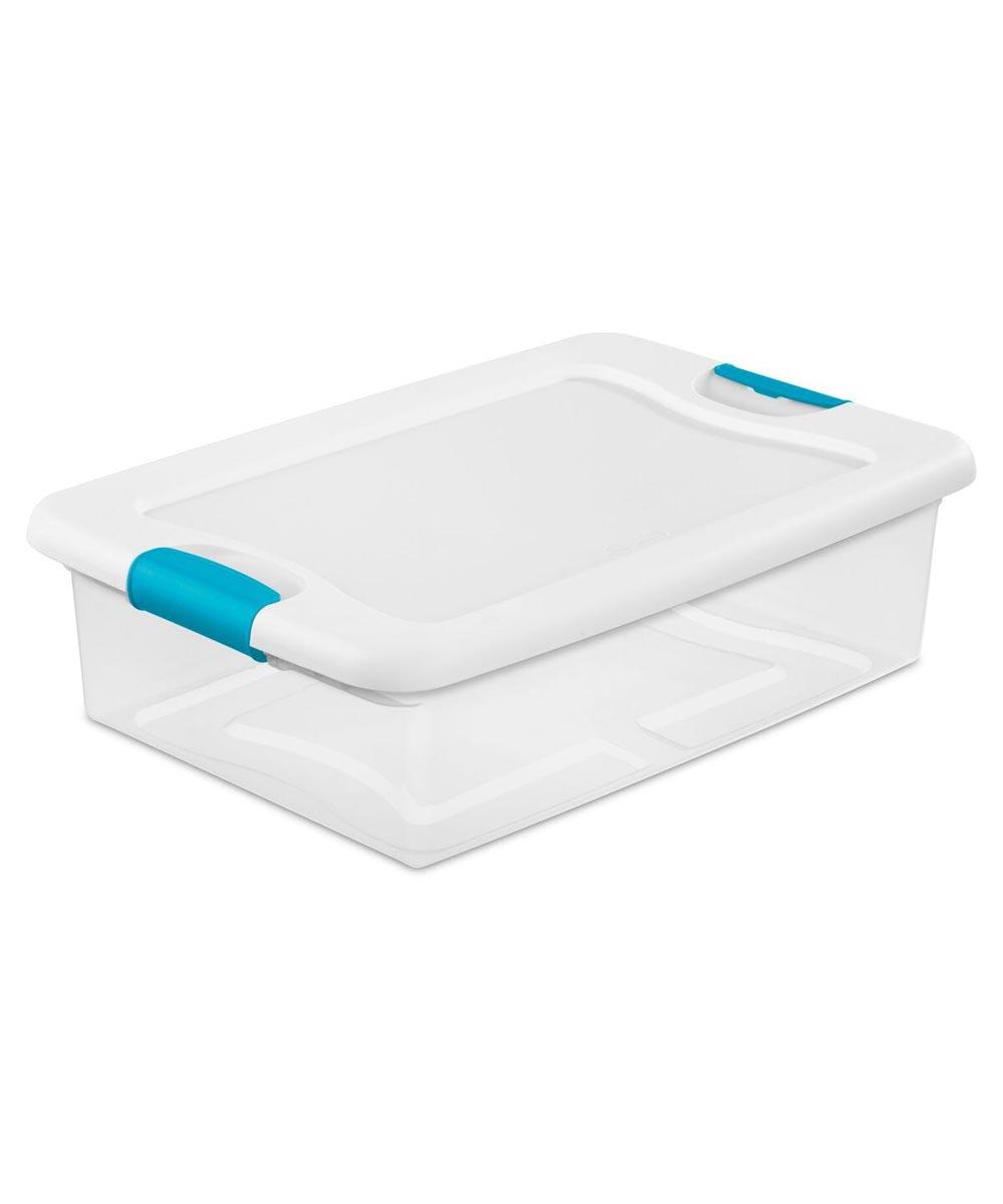 Sterilite Storage Latch Box, 32 Quarts