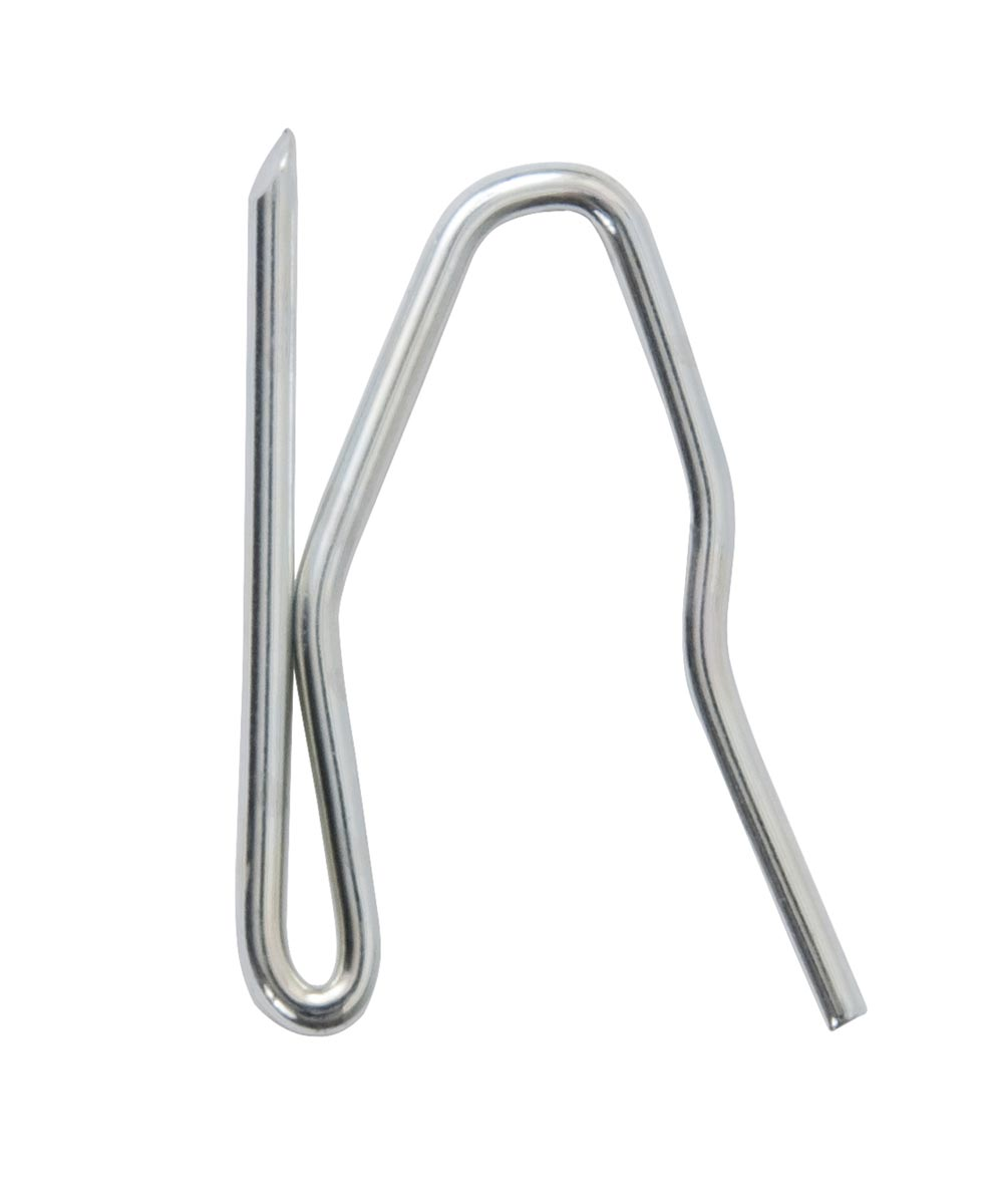 1 in. Chromate Plated Pin On Traverse Hooks 14 Count