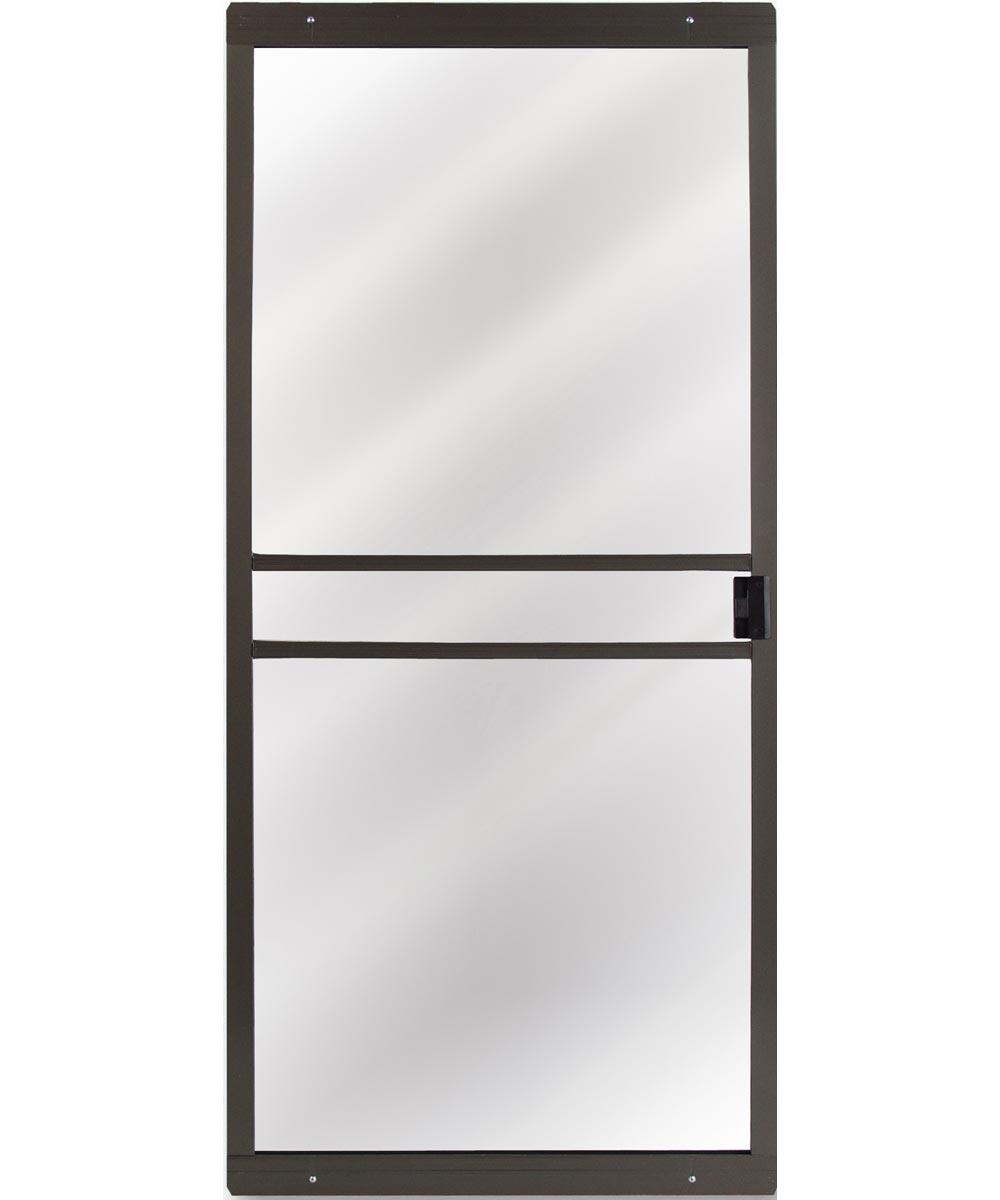48 in. x 80 in. CM Supreme Sliding Patio Screen Door, Bronze
