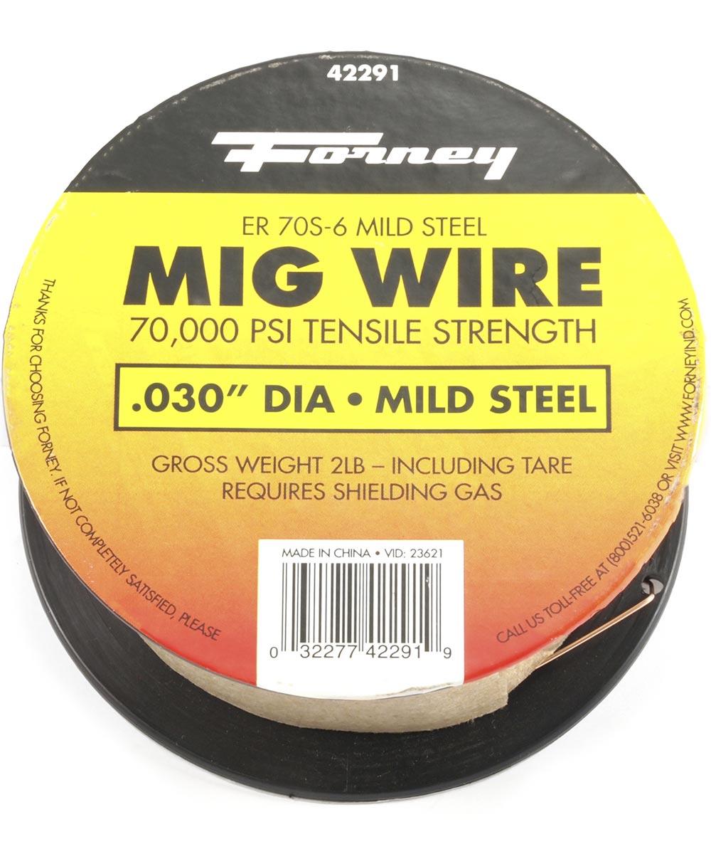 .03 in. Er70S-6 Weld Wire 2 lb.