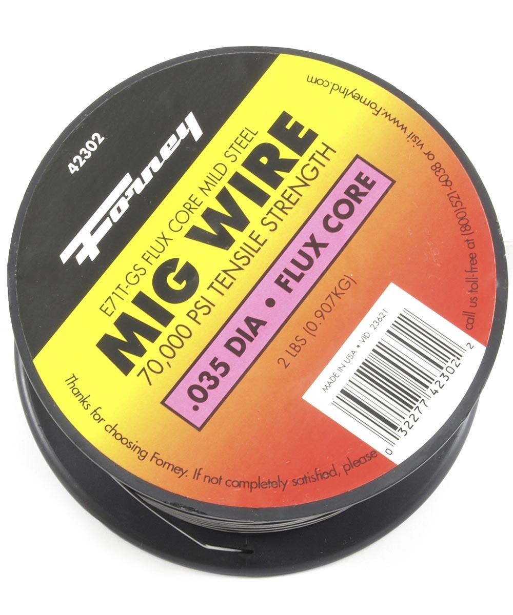 .035 in. E71T-Gs Flux Cored Mig Welding Wire 2 lb.