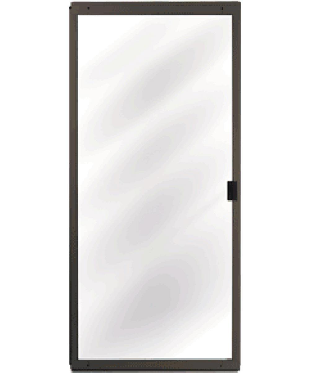 36 in. x 80 in. CM Architectural Sliding Patio Screen Door, Bronze