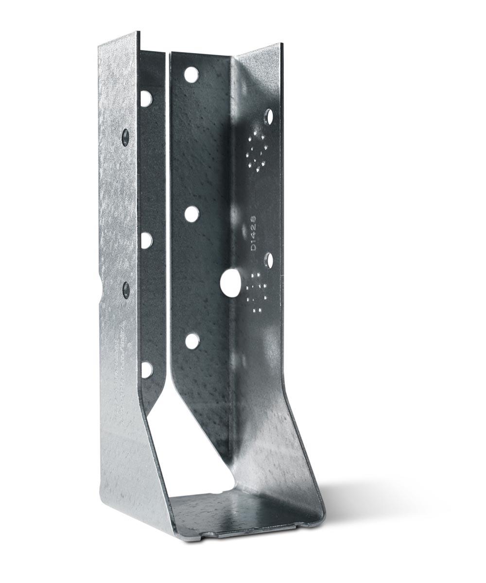 18 Gauge Galvanized Face-Mount Concealed-Flange Joist Hanger for 2x6 with ZMAX Coating