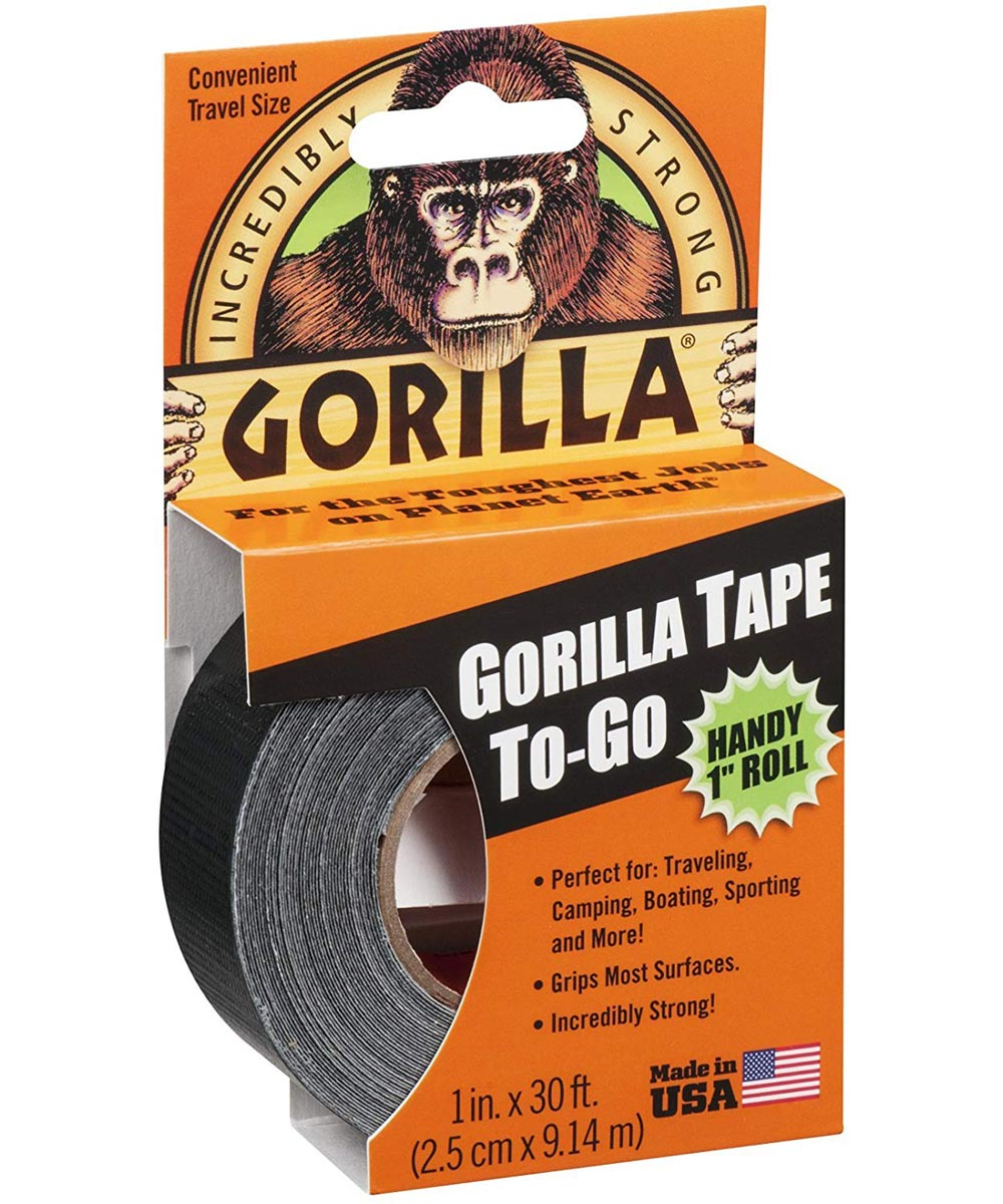 Gorilla Tape To-Go, 1 in. x 30 ft.