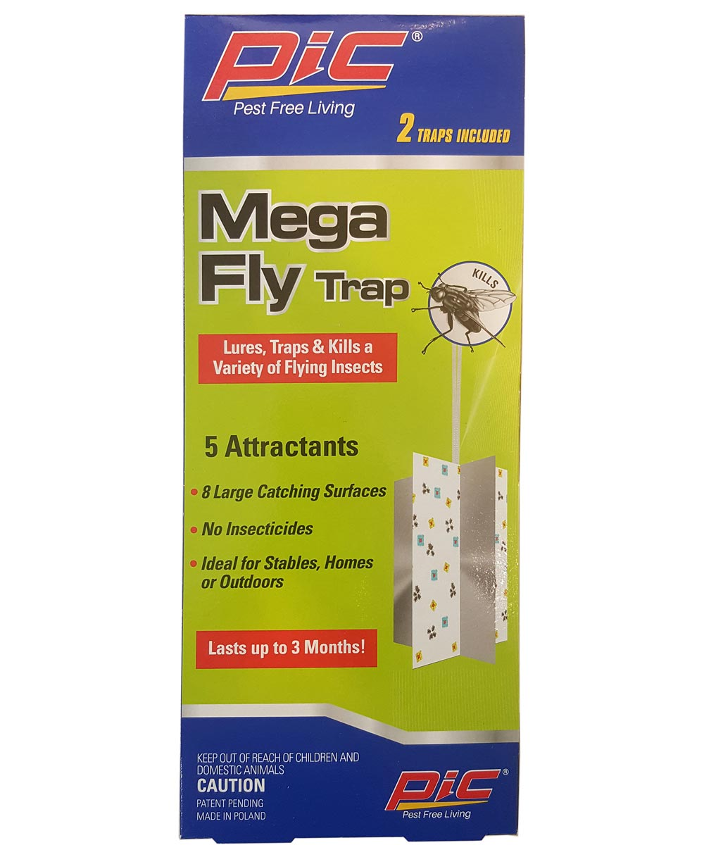 Mega Fly Trap 2 Trap Kit With 5 Attractants