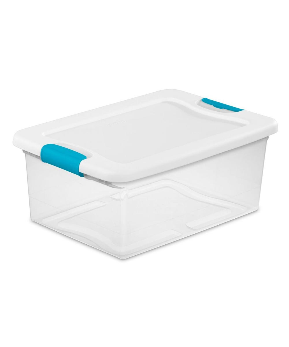 Sterilite Storage Latch Box, 15 Quarts