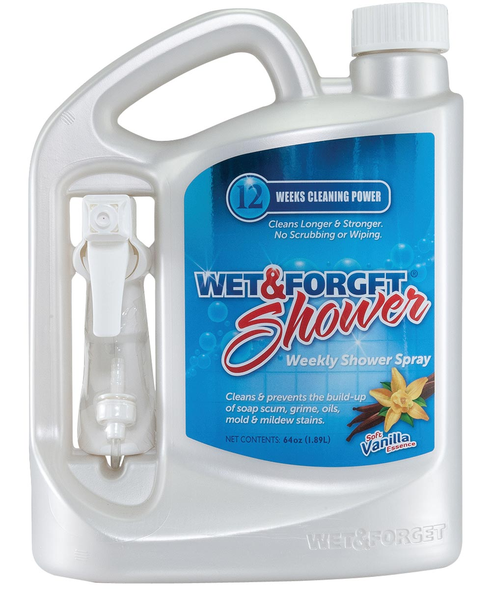 Wet & Forget Ready-To-Use Shower Cleaner, 64 oz.
