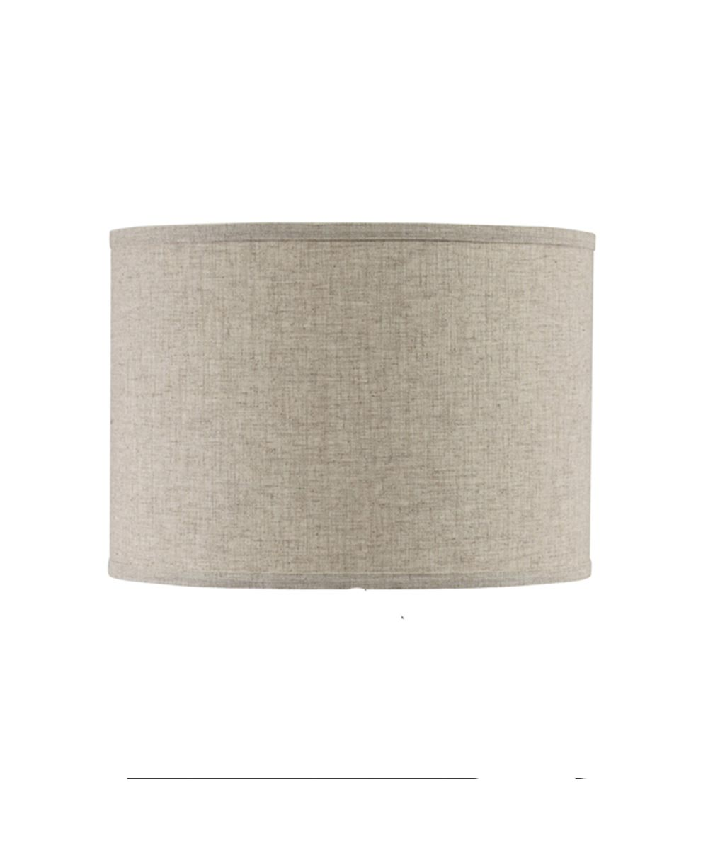 LAMPSHADE LINEN RND BGE 16 in.X10 in.H