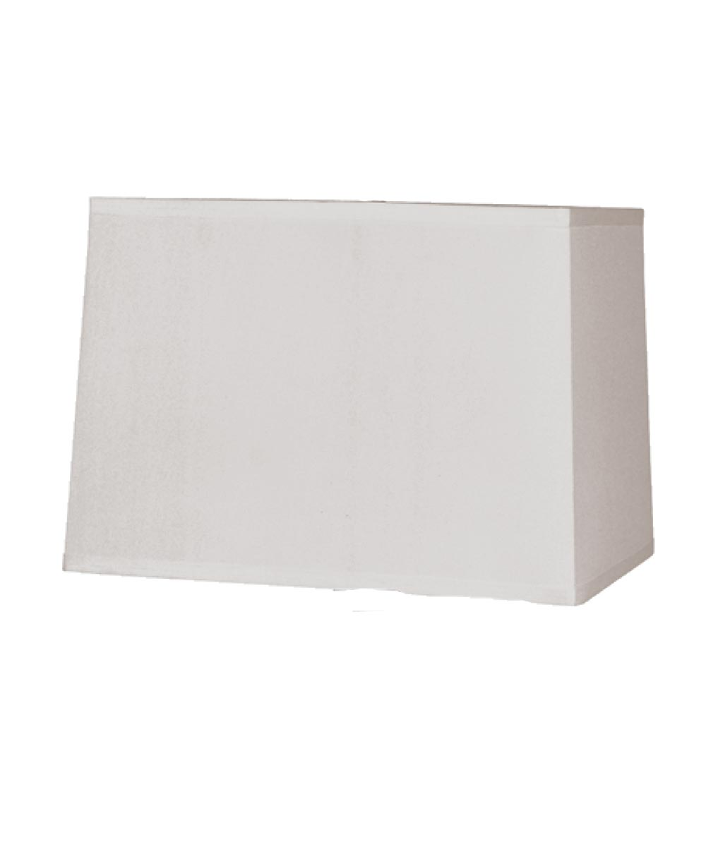 LAMPSHADE RECT White 10 in.X14 in.X10 in.H