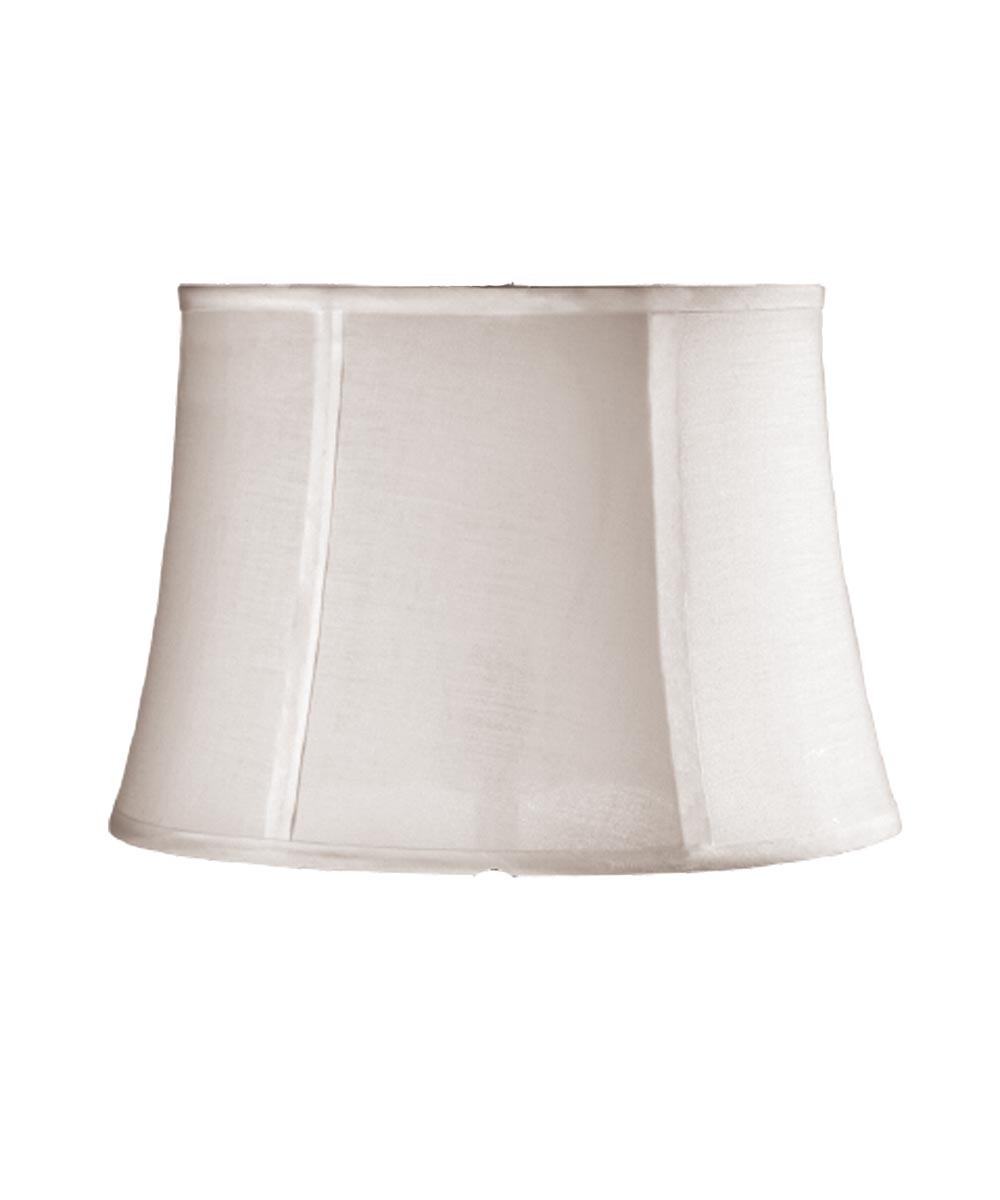 LAMPSHADE DRUM White 14 in.X16 in.X11 in.H