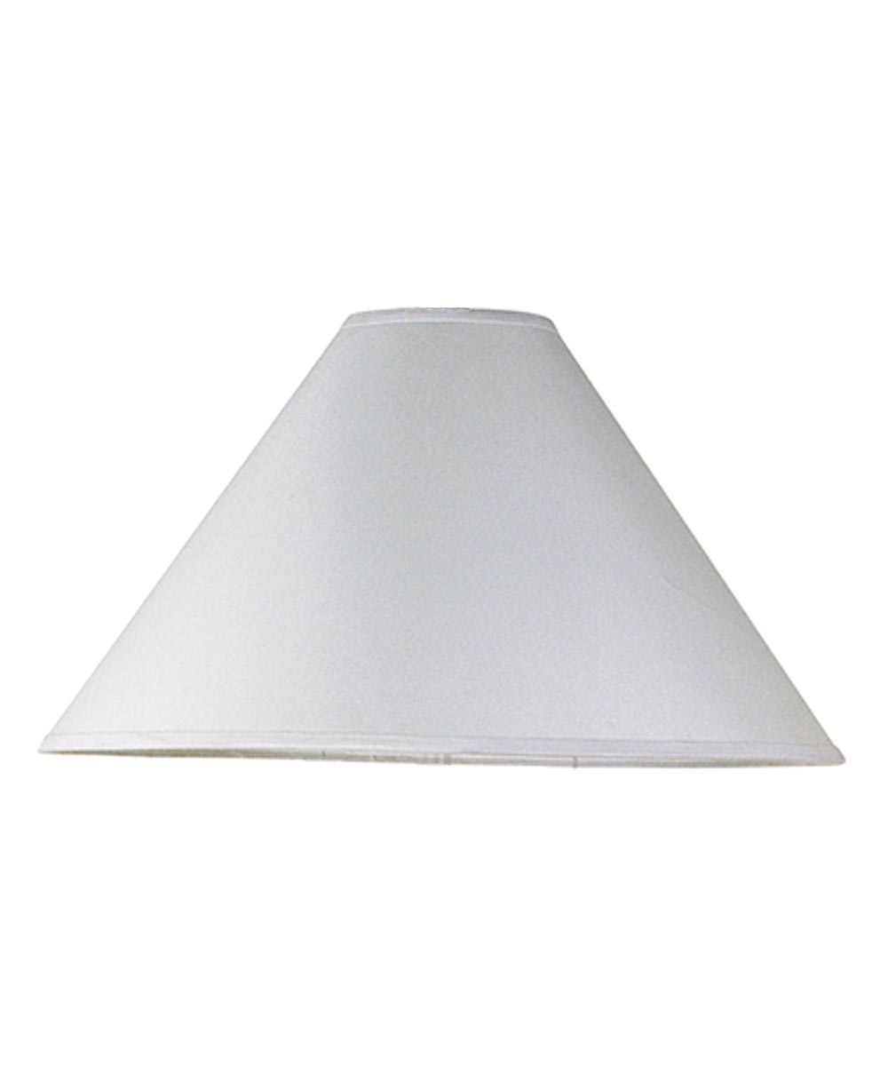 LAMPSHADE FABRIC White 6 in.X20 in.X12 in.H
