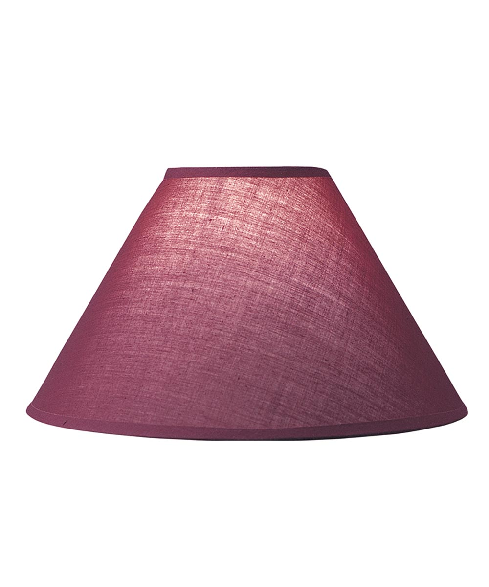 LAMPSHADE HRDBK BURG 4 in.X10 in.X7 in.H