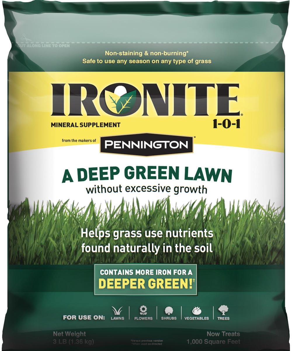 Pennington Slow Release Lawn Fertilizer, 3 lb, Granule, Slight Mineral/Ammoniacal