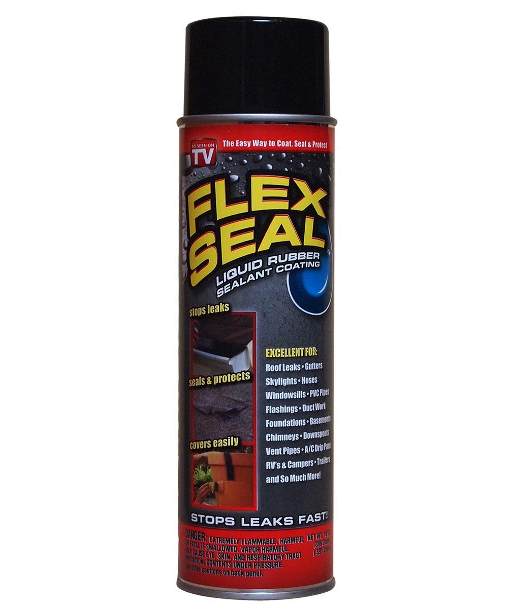 14 oz. Black Flex Seal Liquid Rubber Sealant Coating