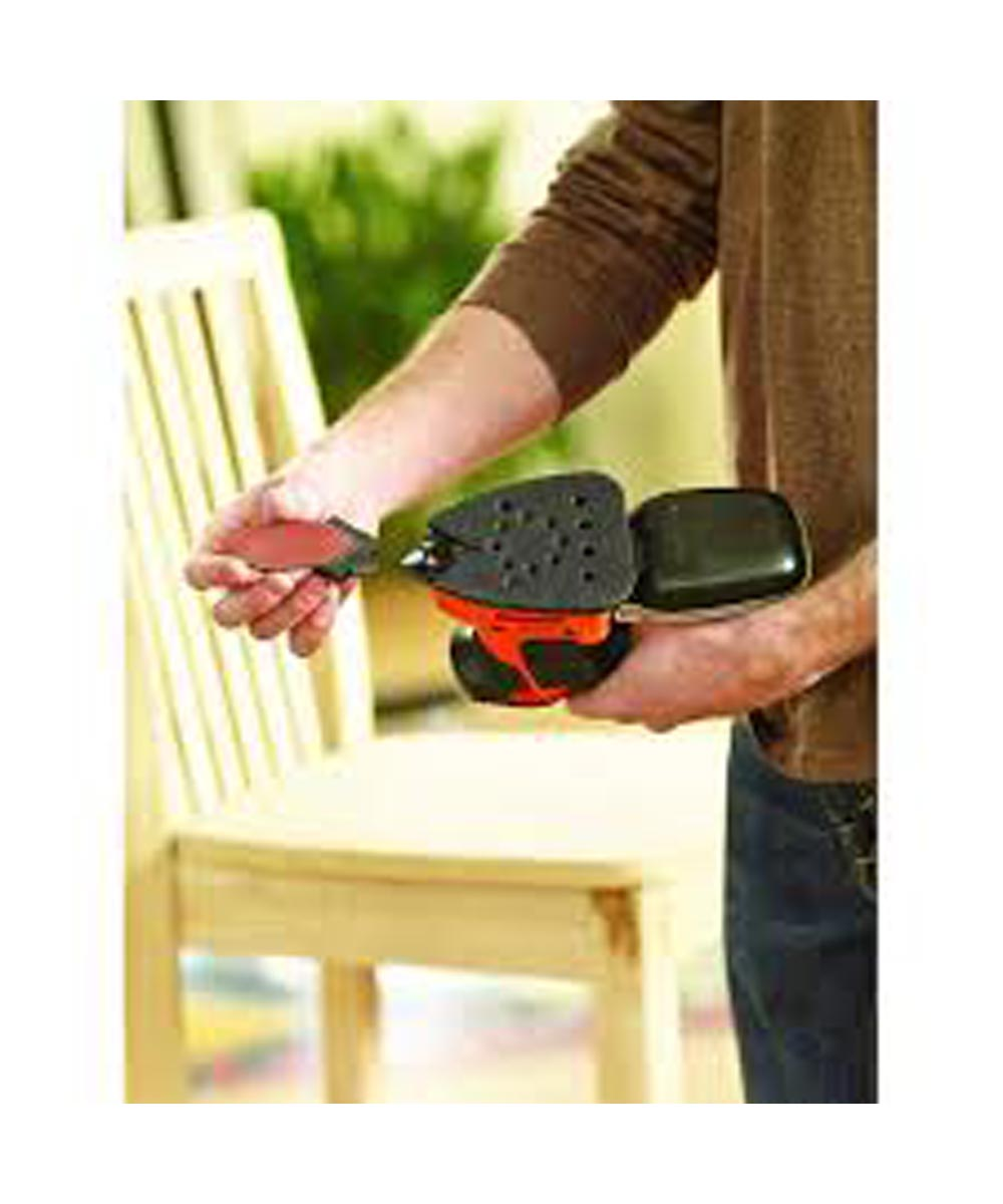 Black & Decker Mouse Detail Sander with Dust Collector