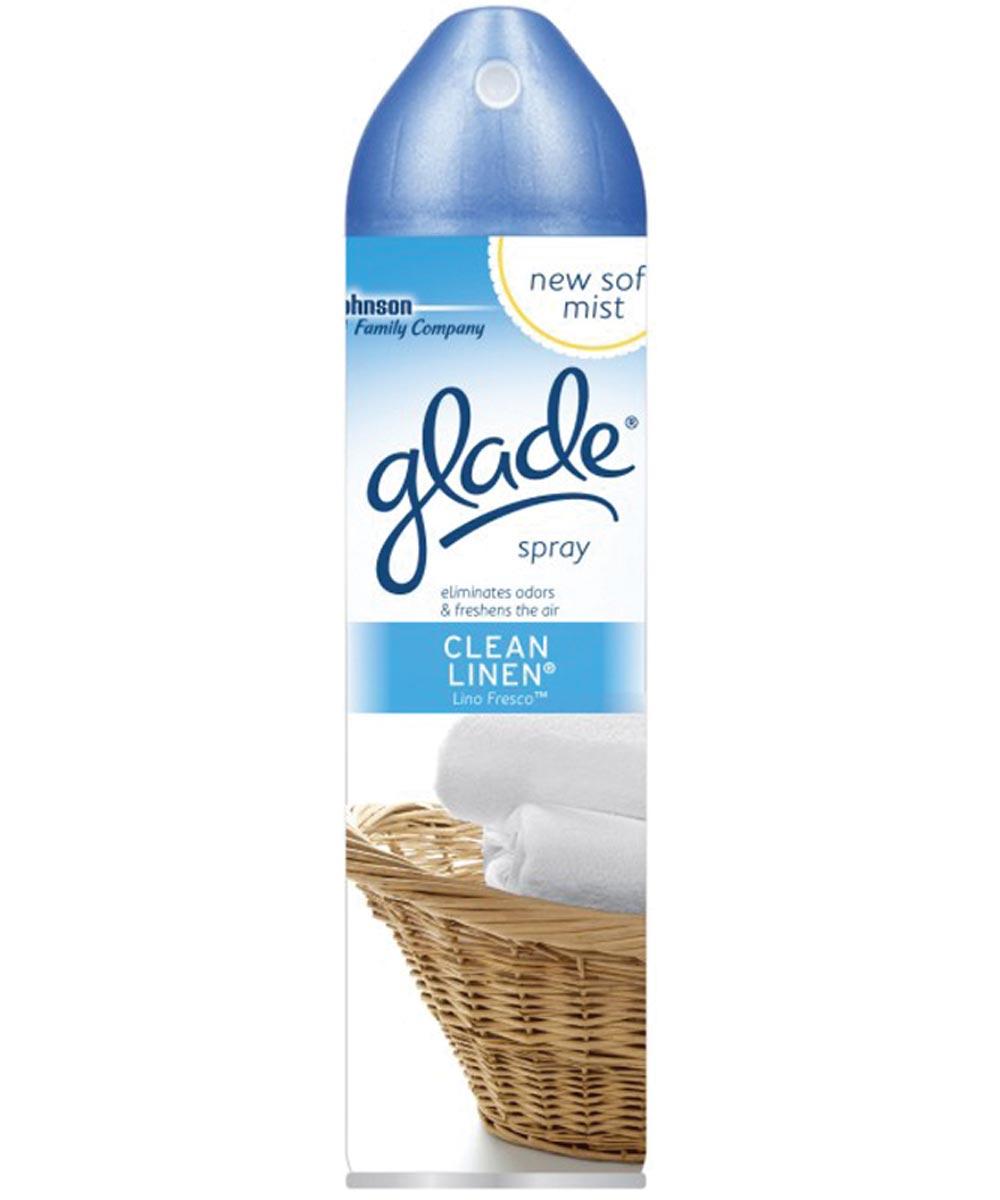 Glade Air Freshener, 8 oz Aerosol Can, Clean Linen