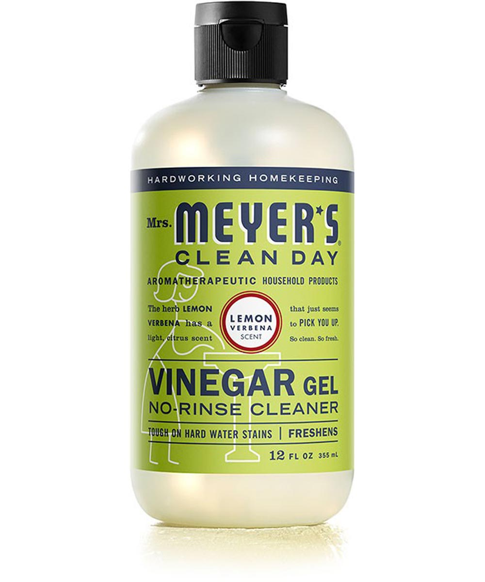 Mrs  Meyer's Clean Day Vinegar Gel Cleaner, Lemon Verbena Scent, 12 oz