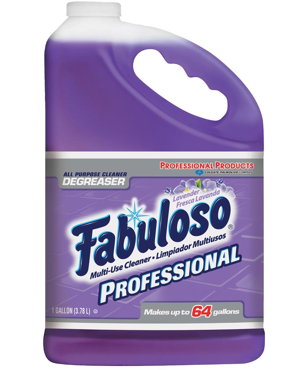 Fabuloso Long Lasting All Purpose Cleaner, Professional Formula, 1 gal, Bottle, Purple, Liquid, Lavender