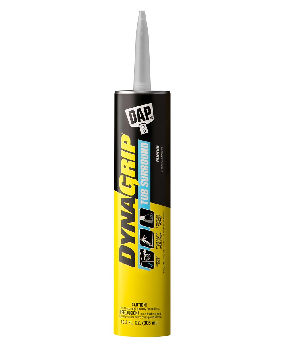 10.3 oz. Clear Dynagrip Tub Surround Construction Adhesive