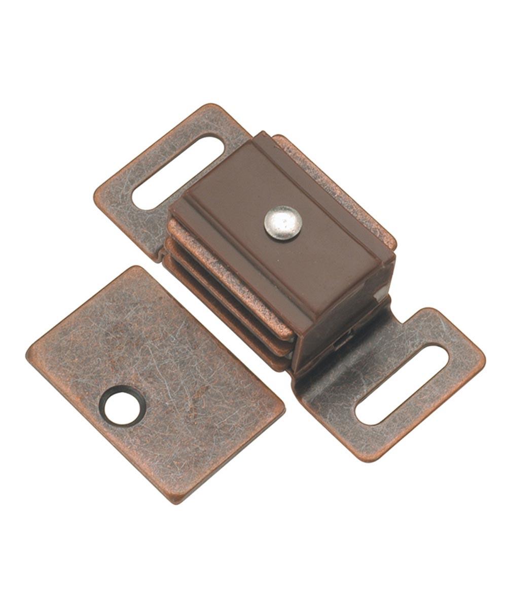 1-7/8 in. Statuary Bronze Double Stack Magnetic Cabinet Door