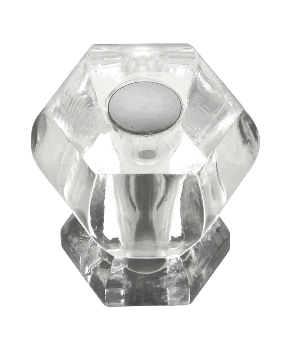1-3/16 in. Crysacrylic/Polished Nickel Crystal Palace Cabinet