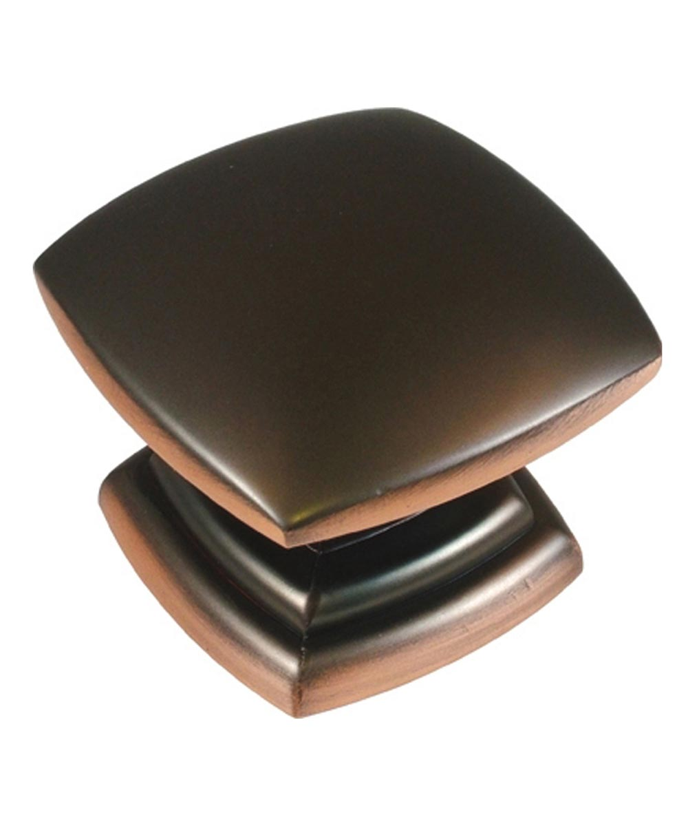 1-1/2 in. Square Oil Rubbed Bronze Euro-Contemporary Cabinet