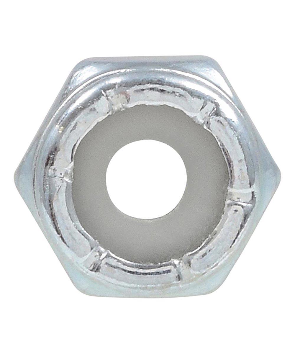 Zinc-Plated Nylon Insert Stop Nut USS Coarse #6-32