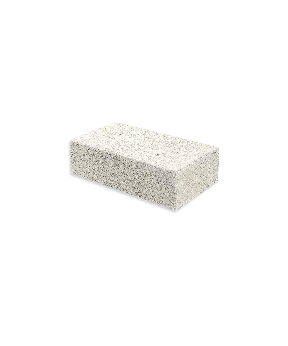 2 in. x 4 in. x 8 in. Gray Cement Brick