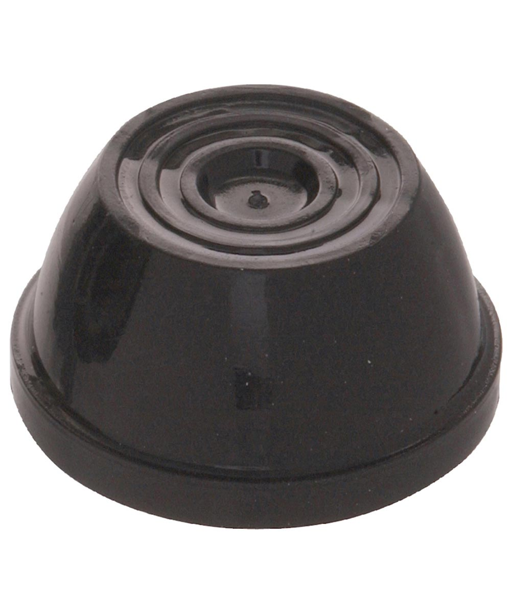 Black Push Nut (7/16 in. Diameter)