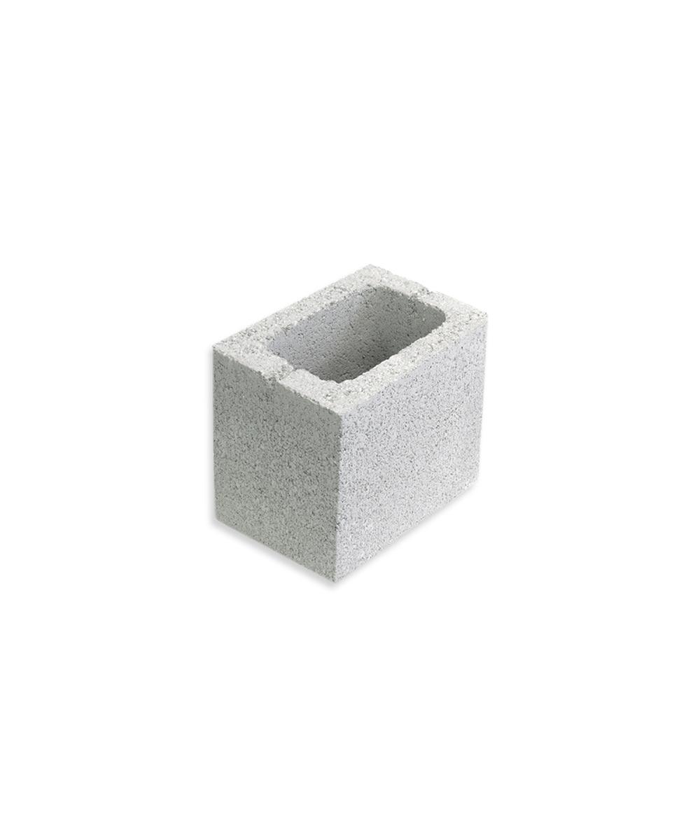 6 in. x 8 in. x 8 in. Gray Concrete Half Block