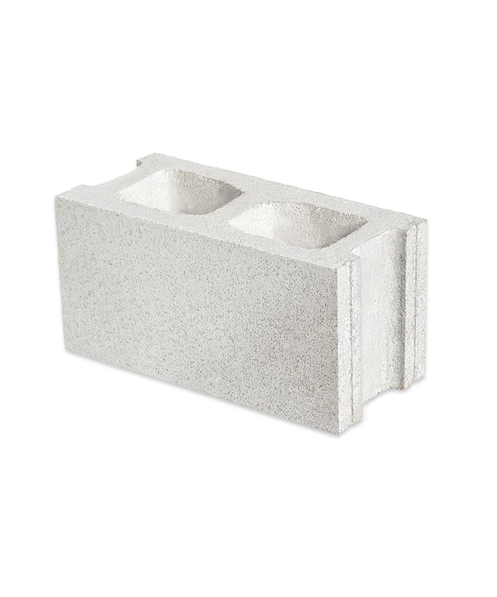 6 in. x 8 in. x 16 in. Gray Standard Mix Concrete Hollow Tile Block