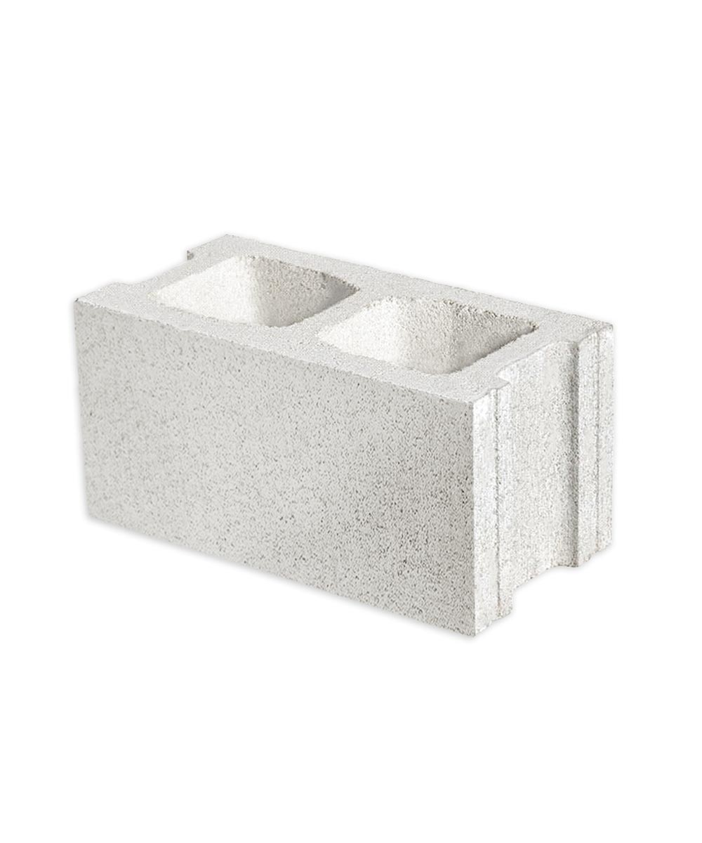 8 in. x 8 in. x 16 in. Gray Standard Mix Concrete Hollow Tile Block
