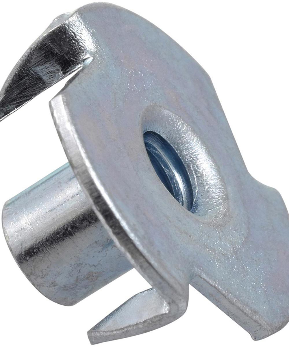 Pronged Metric Tee Nut (M10-1.50 x 12mm x 25mm)