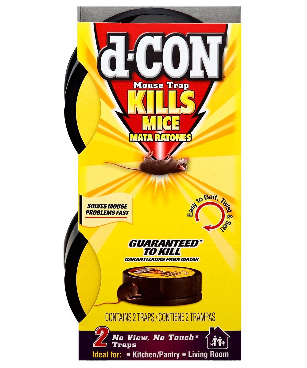 D-CON No-Touch No-View Mouse Trap