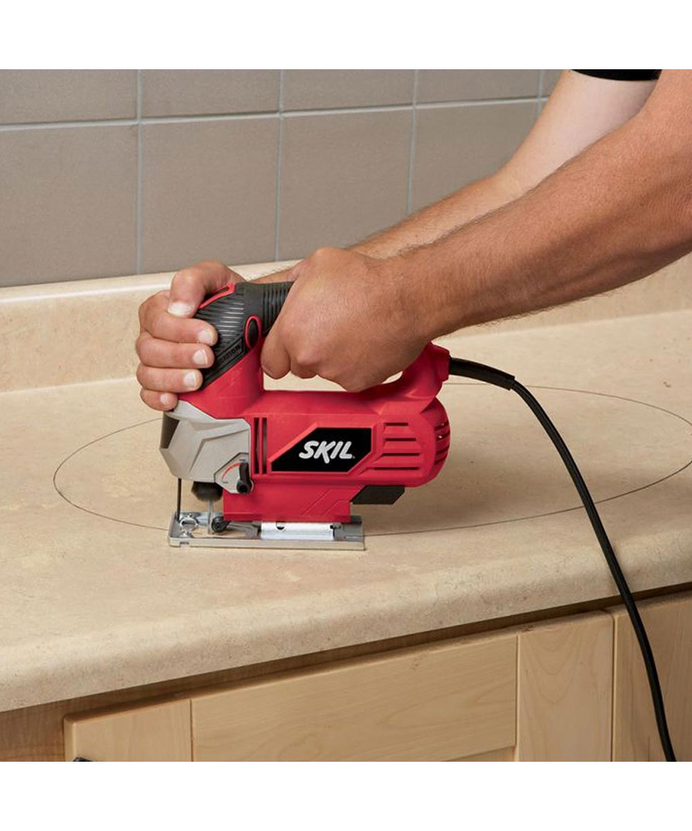 SKIL Corded 6 Amp Orbital Action Jigsaw with Laser