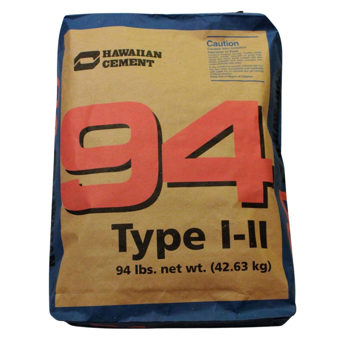 94 lb. Hawaiian Cement, Type I-II