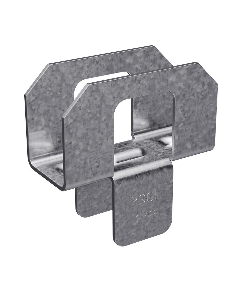 1/2 in. 20 Gauge Galvanized Panel Sheathing Clip