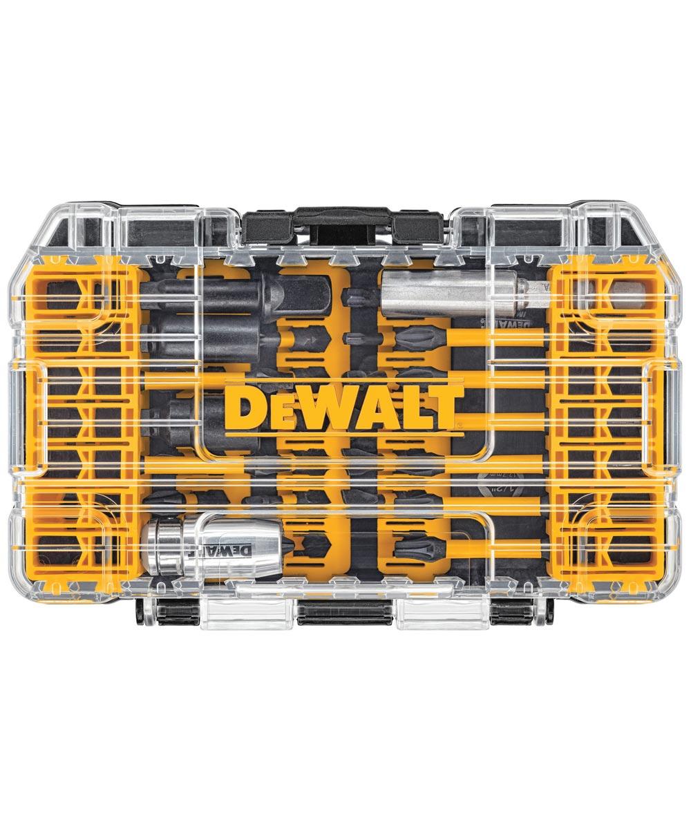DEWALT 40-Piece FlexTorq IMPACT READY Screwdriving Bit Set in ToughCase+ System