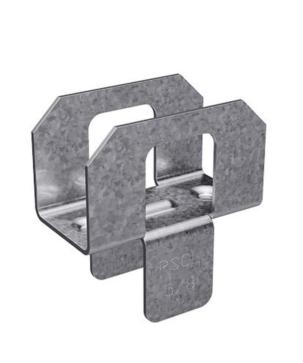 5/8 in. 20 Gauge Galvanized Panel Sheathing Clip