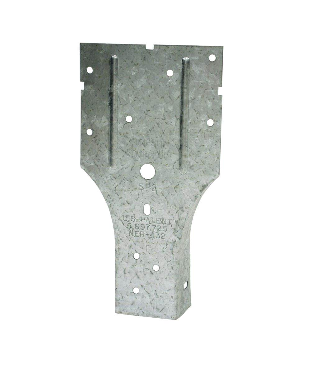3-1/2 in. x 6-5/8 in. Galvanized Stud Plate Tie