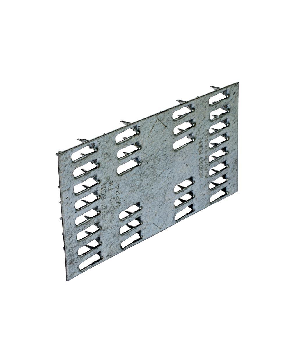 2 in. x 4 in. 20 Gauge Galvanized Mending Plate