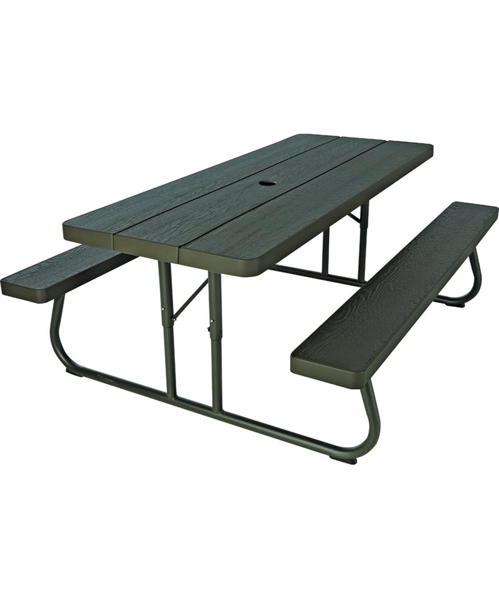 Picture of: Lifetime Products 6 Foot Folding Picnic Table City Mill
