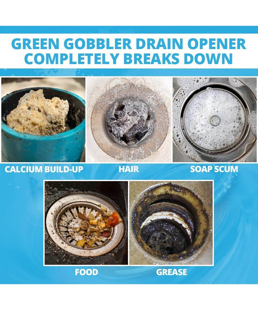 Green Gobbler Drain Opening Pacs, 3 Packs