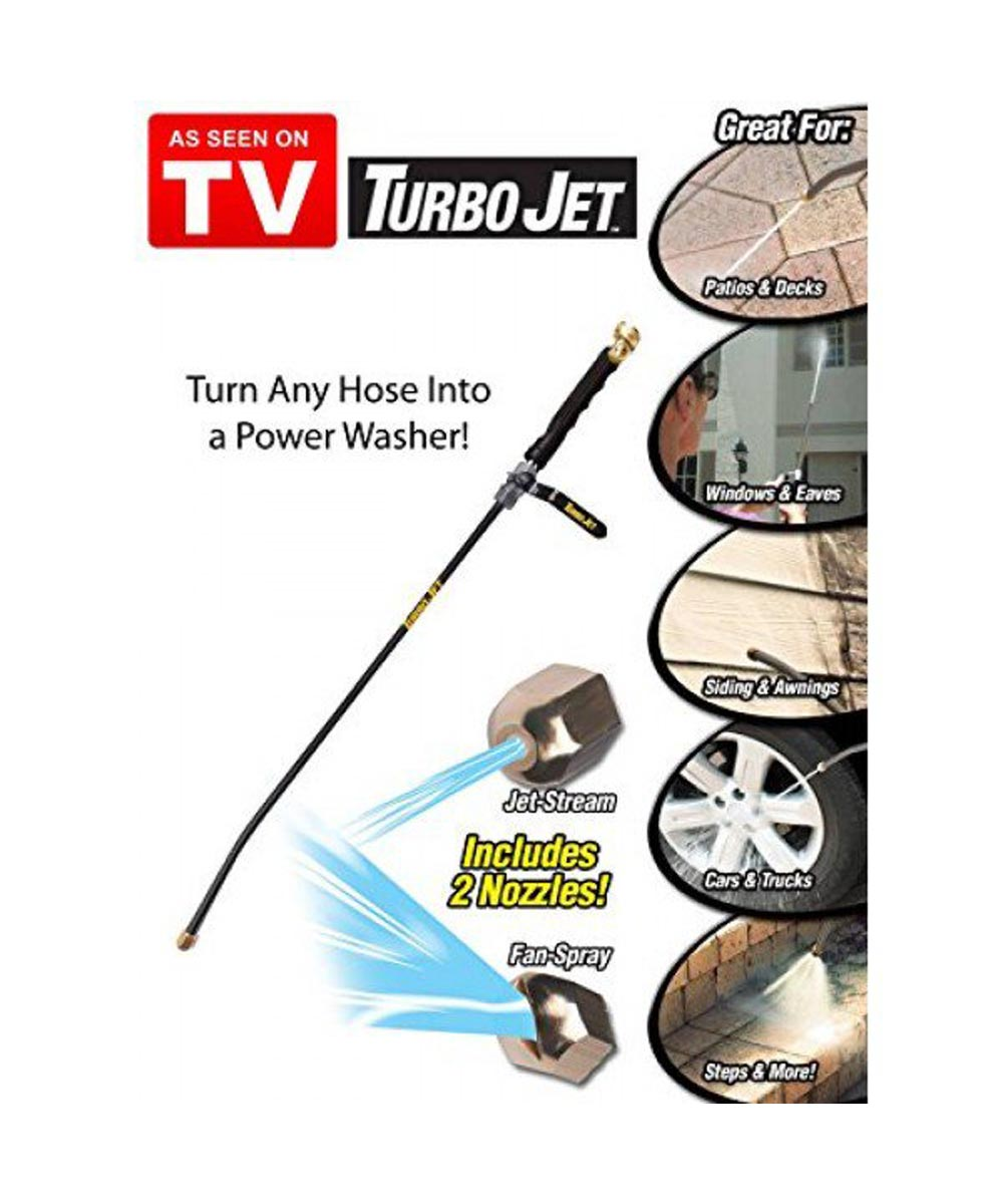Turbo Jet Power Washer Hose Attachment